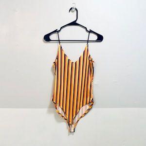 gaze Polka Dot Bodysuit Medium